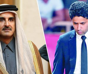 """ناصر الخليفي """"مندوب إبليس"""".. صبى تميم مطارد في 4 دول بتهم فساد"""