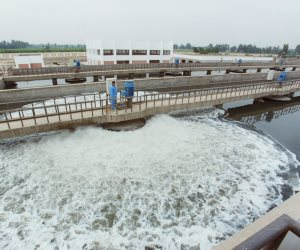 5.13 مليار متر مكعب مياه صرف صحي معالجة أنتجتها 455 محطة في 2019-2020