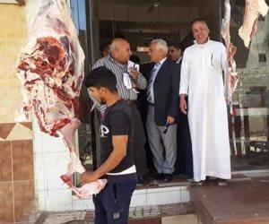 حملة موسعة لضبط الأسواق وأسعار اللحوم في سيناء مع أول أيام رمضان (صور)