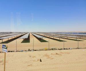 قبل الزيادة الحكومية.. شاهد أول صور لمحطة بنبان لتوليد الكهرباء من الطاقة الشمسية