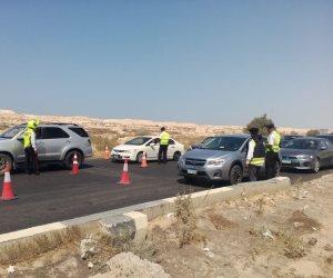 تحويلات مرورية لإنشاء كوبرى سيارات بمحور عدلى منصور بالقاهرة