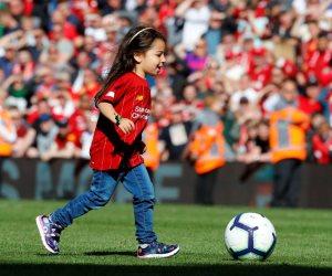 مكة محمد صلاح تسجل هدفا في ملعب «أنفيلد» وسط احتفال جماهير ليفربول