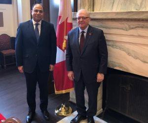 رئيس مجلس الشيوخ الكندي يزور مصر خلال أيام