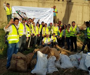 «شباب بتحب مصر» تحتفل بيوم إفريقيا بالحد من استخدام البلاستيك للحفاظ علي التنوع البيولوجي