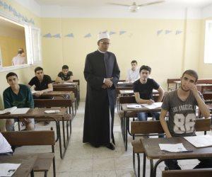 بدء امتحان مادة التوحيد لطلاب القسم الأدبى بالثانوية الأزهرية