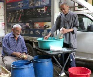 مائدة إفطار رمضانية بأيادي قبطية.. 37 سنة من المحبة في شبرا