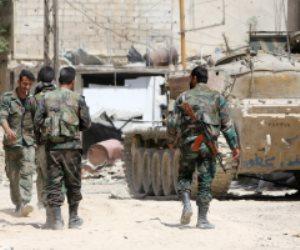 الجيش السوري يقصف تجمعات لإرهابيي فتح الشام بريف إدلب الجنوبي