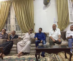 أسرة محمد صلاح تحتفل بأول أهدافه في نهائي دوري أبطال أوروبا (صور)