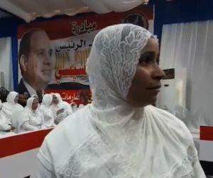 سيدة مفرج عنها ضمن مبادرة «سجون بلا غارمين»: «ربنا يخليك لينا يا ريس.. وعدت ووفيت» (فيديو)