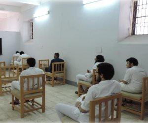 قطاع السجون يعقد (10) لجان للنزلاء المتقدمين لامتحانات الثانوية العامة (صور)