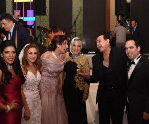 «صوت الأمة» تهنئ المستشار عمرو عمران والأستاذة نهال علي مازن بمناسبة حفل زفافهما (صور)