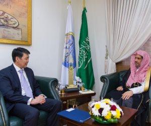رئيسة مجلس الشيوخ الكازخي تدعو أمين عام رابطة العالم الإسلامي لزيارة كازخستان