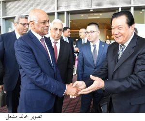 عبد العال في زيارة إلى الصين لبحث سبل تعزيز العلاقات