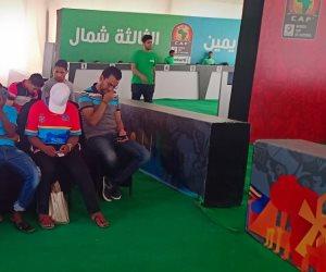 منفذ تذكرتي بشباب الجزيرة يشهد إقبالا جماهيريا كثيفا على تذاكر مباراة مصر والكونغو