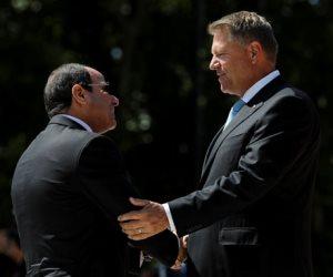 الرئيس السيسى يواصل لقاءاته ومباحثاته مع كبار المسئولين فى رومانيا