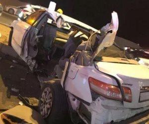 جهود أمنية للبحث عن جثة قائد سيارة سقطت من أعلي كوبري بالشرقية
