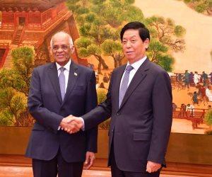 عبدالعال من الصين: نتعاون ونتبادل المعلومات بشكل كبير لمكافحة الإرهاب