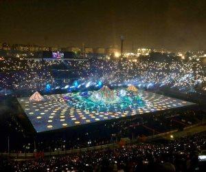 رواد مواقع التواصل: مصر تبهر العالم بحفل أسطورة.. وشكرا للمنظمين (صور)