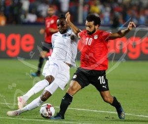 الشوط الأول.. المنتخب يقترب من التأهل لدور الـ 16 بهدفي صلاح والمحمدي في الكونغو