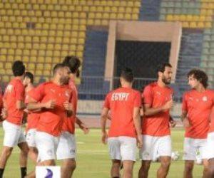 بعد العفو.. عمرو وردة يشارك في مران المنتخب (صور)