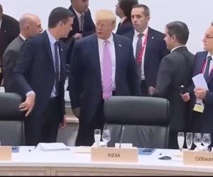 ماذا قال رئيس وزراء إسبانيا عن «موقف الكرسي» المحرج مع ترامب؟