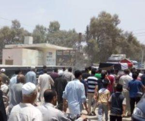 تشييع جثمان البطل «عباس أفندي» أول من رفع علم مصر في حرب أكتوبر