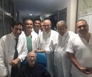 ننشر أول صورة للرئيس التونسى قائد السبسى بعد خروجه من المستشفى العسكرى
