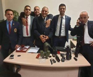 جمارك مطار القاهرة تضبط محاولة تهريب 2 تلسكوب للقنص ونظارة ميدان