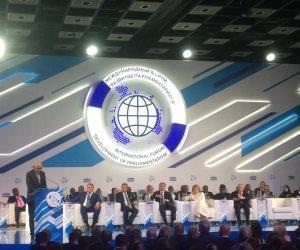 عن الحروب الإعلامية والشائعات.. ماذا قال «عبد العال» في منتدى «التطوير البرلماني» بروسيا؟