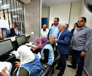 إقبال كثيف على التسجيل بمنظومة التأمين الصحى الشامل في بورسعيد (صور )