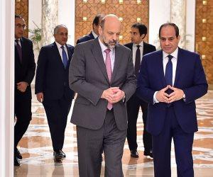 الرئيس السيسي يشيد بالروابط التاريخية بين مصر والأردن