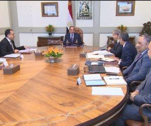 شاهد.. الرئيس يوجه بتوفير السلع الأساسية وضبط الأسواق خلال اجتماعه بقيادات الدولة (فيديو)