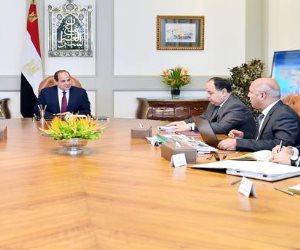 الرئيس السيسي يناقش تحويل الموانئ المصرية لتصبح موانئ خضراء (فيديو)