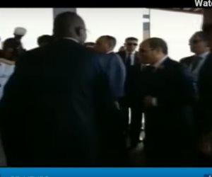 شاهد.. الرئيس السيسي يصل مقر انعقاد القمة الإفريقية في النيجر