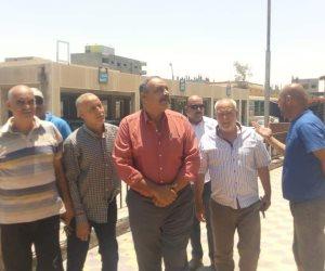 رئيس مدينة العريش: أسواق العريش كاملة الأصناف من الخضار واجراءات رادعة ضد رفع الأجرة (صور)