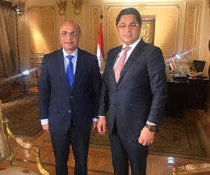 عمر مروان لخالد أبو بكر: السيسى يسعى لمصلحة مصر بغض النظر عن شعبيته والبرلمان يعبر عن الشارع