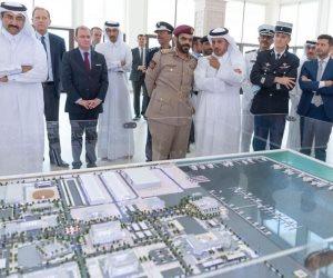 «الشهواني في كل مكان».. «قائد الحرس الأميري» منتشر في قطر (صور)