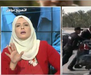 مصري من «قرية مرسي» يقصف جبهة مذيعة الإخوان (فيديو)