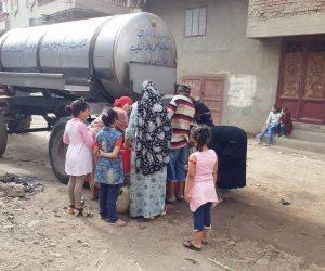 انقطاع المياه بمنطقة سيد عكاشة بمنطقة الهرم.. والأهالي يهددون بقطع الطريق الدائري
