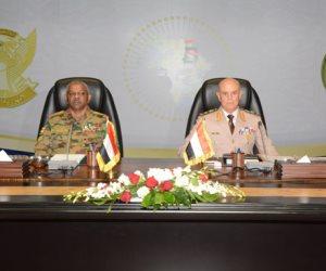 لبحث دعم العلاقات المشتركة.. الفريق محمد فريد يلتقى رئيس الأركان السوداني