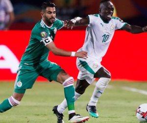 نهائي أمم أفريقيا السنغال ضد الجزائر.. هدف خاطف لمحاربي الصحراء بقدم بونجاح