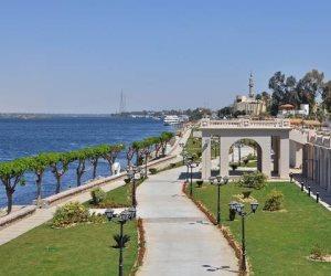 الأقصر بلدنا.. تطوير كورنيش النيل بالمدينة الأثرية استعداداً للموسم الشتوي
