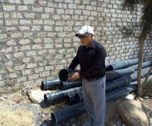 تفاصيل تنفيذ مشروع الصرف الصحي بمدينة بئر العبد بسيناء بتكلفة 85 مليون جنيه (صور)