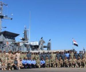 انطلاق فعاليات التدريب البحري المصري الأمريكى المشترك ( تحية النسر - استجابة النسر ٢٠١٩ )