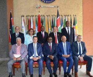 عبدالعال لرئيس مجلس الشيوخ الكيني: مصر منفحتة لتعزيز علاقاتها مع دول أفريقيا (صور)