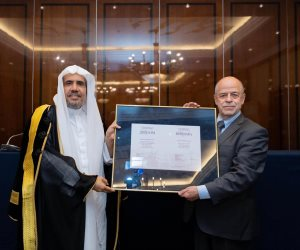 معهد الاستشراق الروسي يمنح أمين عام رابطة العالم الإسلامى الدكتوراه الفخرية (صور)