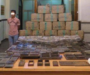 الداخلية تضبط 250 طربة حشيش بقيمة 1.7 مليون جنيه
