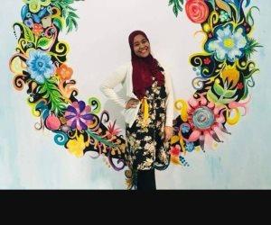 اتبع شغفك على طريقة آية رمضان.. عشقت الرسومات فأصبحت مصممة جداريات (صور)