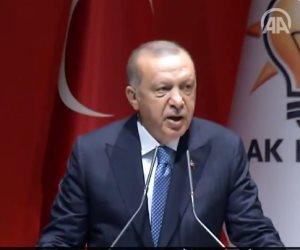 """""""بيغيظ شعبه"""".. أردوغان يجتمع بكوادر حزب العدالة والتنمية ليعلن رفض الانتخابات المبكرة"""