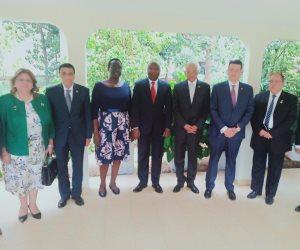 علاقات أكثر قوة من الماضي.. تفاصيل لقاء رئيس البرلمان ورئيس الوزراء البوروندي